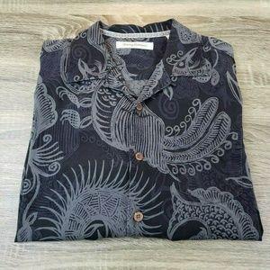 Tommy Bahama Short Sleeve Hawaiian Aloha Shirt